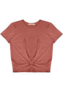 Blusa Feminina Crepe Vermelho