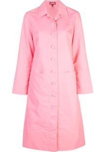 Staud Trench Coat Slim - Rosa