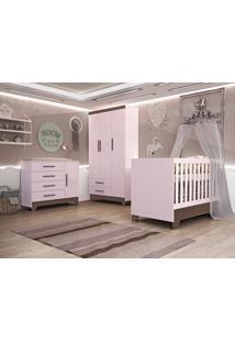 Dormitório Retrô Ester Rosa
