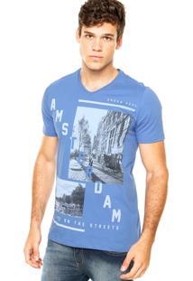 Camiseta Kohmar City Azul