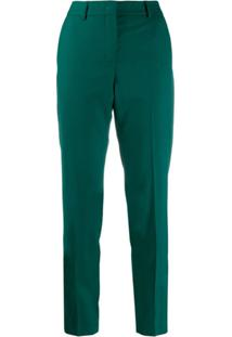 Ps Paul Smith Calça Cenoura Cintura Alta - Verde