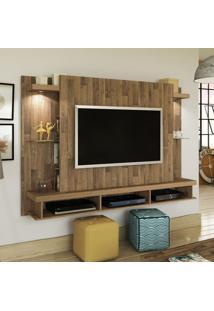 Painel Maximus Ideal Para Tv De Até 50 Polegadas E Rustico Artely