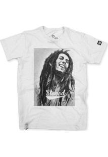 Camiseta Stoned Bob Marley Masculina - Masculino