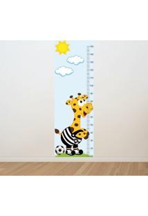 Adesivo Régua De Crescimento Girafa Botafogo Futebol (0,50M X 1,50M)