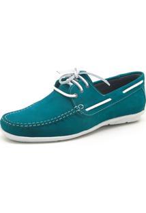 Dockside Atron Shoes Azul Piscina