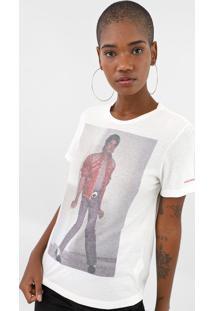 Blusa Ellus Michael Jackson Off-White