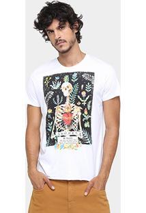 Camiseta Sommer Long Caveira Mexicana - Masculino