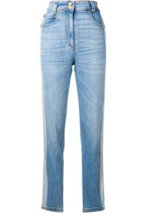 Versace Calça Jeans Slim - Azul