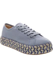 Tênis Bia Flatform Lona Jeans | Anacapri