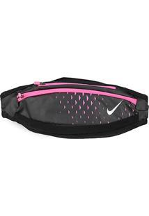 Pochete Nike Small Capacity - Unissex-Preto+Rosa