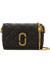 Marc Jacobs Bolsa Transversal The Status - Preto