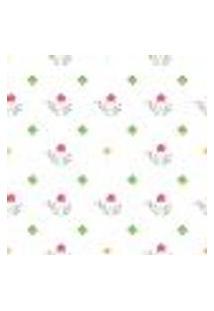 Papel De Parede Autocolante Rolo 0,58 X 3M - Flores Floral Folhas 291474536
