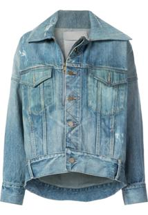 Monse Jaqueta Oversized Jeans - Azul