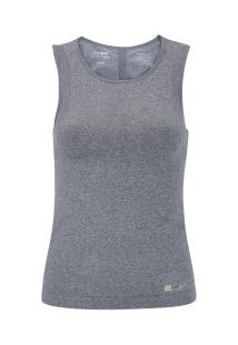 9388e4b3ac ... Camiseta Regata Oxer Seamless Perforated 2 - Feminina - Cinza