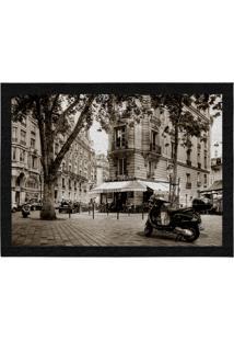 Capacho - Tapete Colours Creative Photo Decor - Saint Michel Em Paris, Na França Cinza