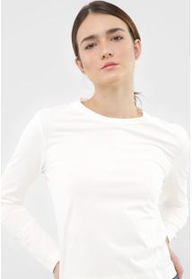 Blusa Dzarm Lisa Off-White - Kanui