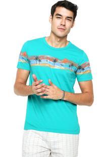 Camiseta Sommer Beach Verde