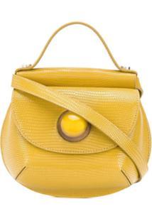 Marni Cyclops Crossbody Bag - Amarelo
