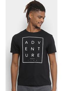 Camiseta Tigs Estampada Flamê Masculina - Masculino
