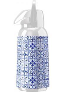 Garrafa Térmica Air Pot Flandres 1,8 Litros Decoração Azulejo - Invicta