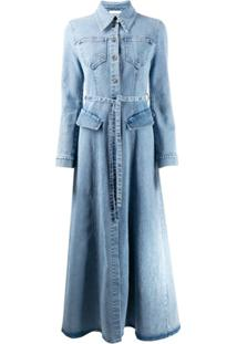 Nanushka Vestido Jiaye - Azul