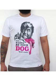 I Wanna Be Your Dog - Camiseta Clássica Masculina