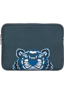 Kenzo Bolsa Para Laptop 'Tiger' - Green