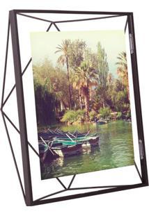 Porta Retrato Prisma 20X25 Cm Preto Umbra