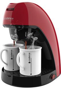 Cafeteira Single Cadence Colors Vermelha - 220V