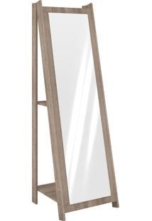 Espelheira Com Prateleira Rústico