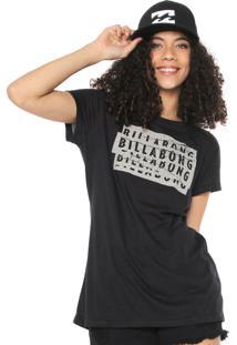Camiseta Billabong Essencial Preta