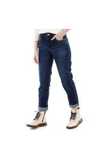 Calca Jeans Equivoco Bianca Reta