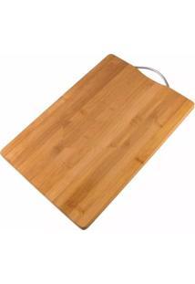 Tábua Para Carne Em Bambu 34 X 24 X 1,8 Cm