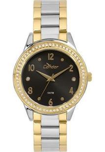 Relógio Condor Feminino Bracelete Bicolor - Co2036Kuj/K5P Co2036Kuj/K5P - Feminino-Única