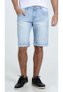 Bermuda Masculina Jeans Marisa