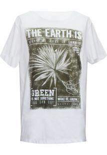 Camiseta Mormaii Earth Now - Masculino-Branco