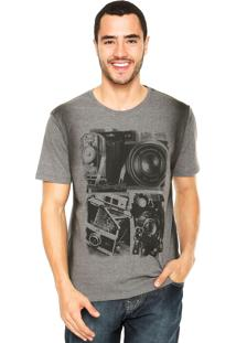 Camiseta M. Officer Photo Cinza