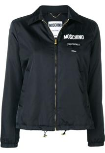 Moschino Couture! Zipped Jacket - Preto