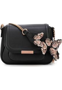 Sophia Webster Bolsa Tiracolo Butterfly - Preto