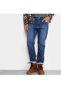 Calça Jeans Skinny Redley Moletom Masculina - Masculino-Jeans
