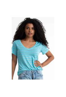 T-Shirt Its&Co Lino Azul Candy