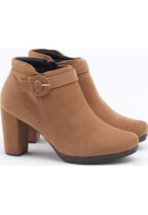 Ankle Boot Modare Nobuck Camel