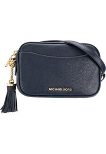 Michael Michael Kors Bolsa Transversal - Azul