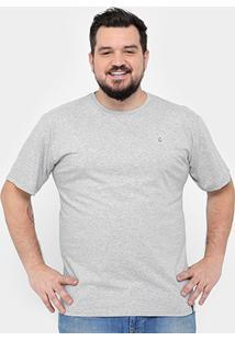 Camiseta Tigs Plus Size Básica Masculina - Masculino