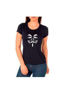 Camiseta Feminina Algodão Básica Leve Macia Confortável Preto