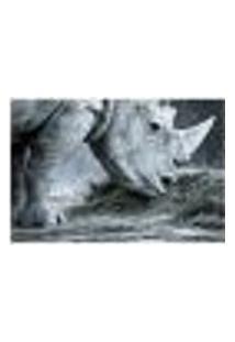 Painel Adesivo De Parede - Rinoceronte - 067Pn-M