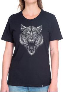 Lobo - Camiseta Basicona Unissex
