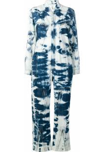 Stella Mccartney Macacão Tie-Dye - Azul