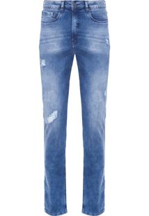 Calça Masculina Skinny - Azul
