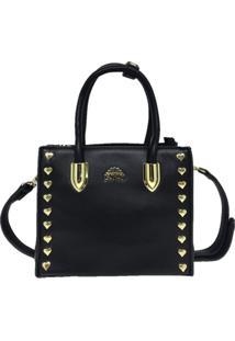 Bolsa Pequena Casual Importada Sys Fashion 8530 Preto